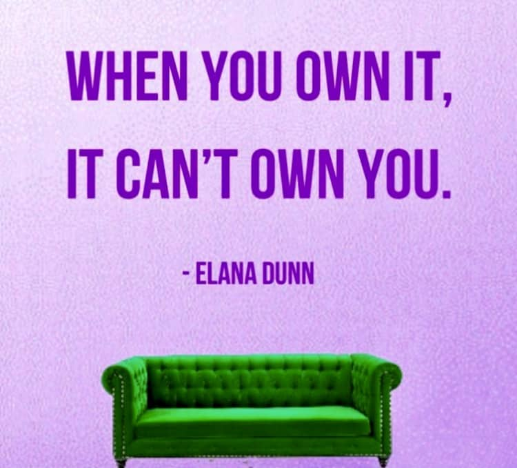 Own It Quote Elana Dunn